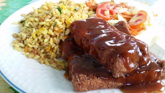 Punta Gorda, Belice: BBQ tofu