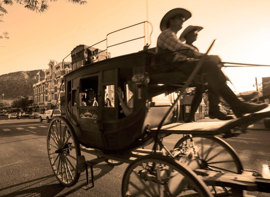 Strater Hotel: Old West carriage rides
