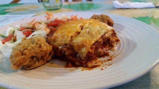 Punta Gorda, Belice: Lasagna