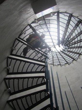 Slavonice, Česká republika: Escalera de acceso a la habitación