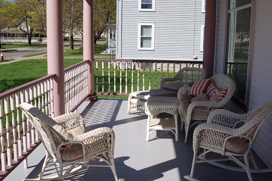 Portville, NY: Front Porch