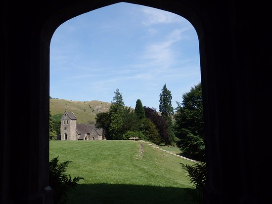 Ilam, UK: The church