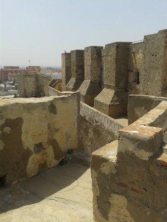 One of the 'rooftop' walkways - Picture of Castillo de