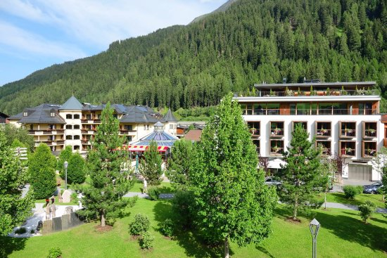 Skihotel Galzig: geradeaus