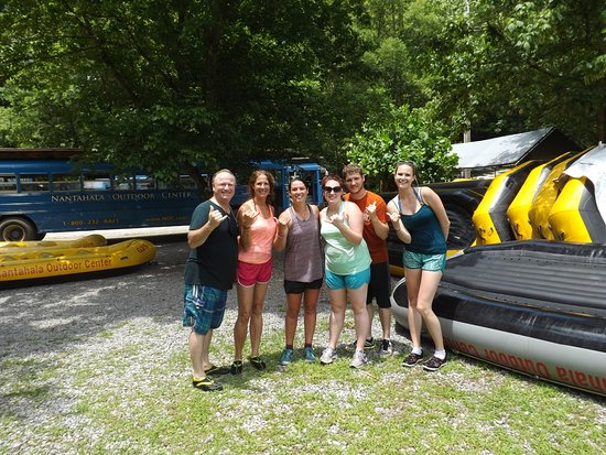 Hartford, TN: Beard family vacation awesome first time whitewater rafting with NOC and Sarah as our guide!