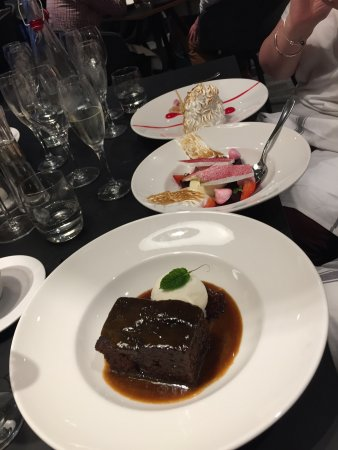 Salford, UK: Sticky Toffee Pudding - delicious