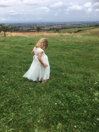Goathurst, UK: Family wedding at Huntstile