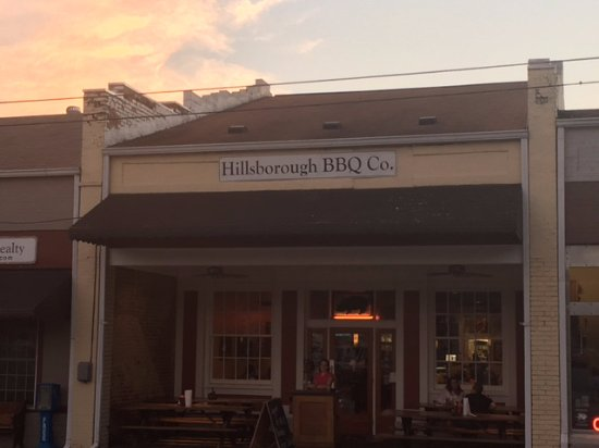 Hillsborough, Βόρεια Καρολίνα: Awesome Place - Real BBQ