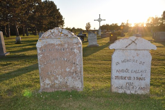 Church of St. Augustine: A walk through the cemetery you'll realize the St. Augustine's is the foundation of this communi