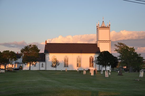 Church of St. Augustine: St Augustine's in Rustico PEI