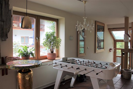 Appartement  Hotel Seespitz: Among many other things, they also have a fussball table.