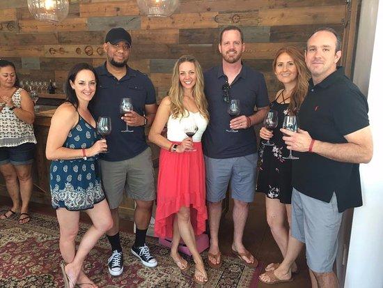 Paso Robles, كاليفورنيا: First stop - Glunz Family Vineyards