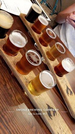 Lee's Summit, MO : Beer Flights