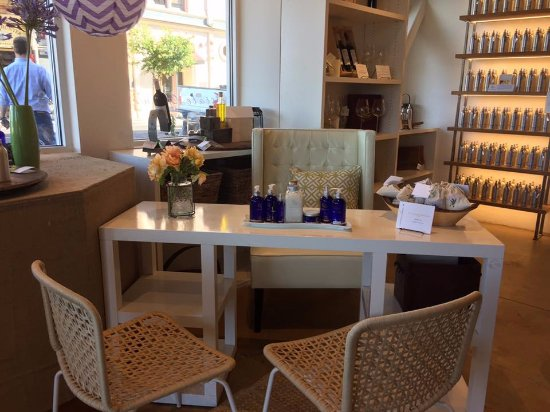 Gabrielle Collection Taste +: Sample Area For Our GC Napa Valley Spa  Products