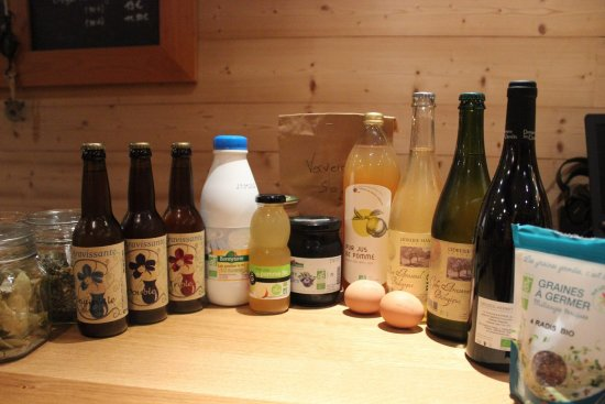 Thones, France: Produits Bio