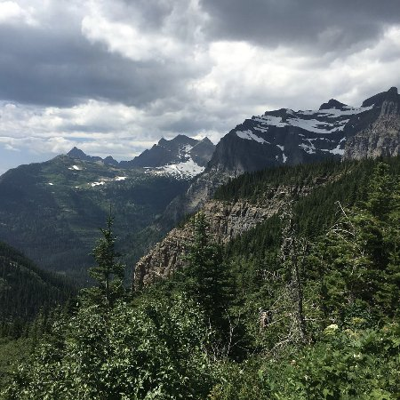 West Glacier, MT: Crossing the pass on day two