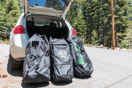 Tahoe Vista, CA: Ultra portable and super lightweight.
