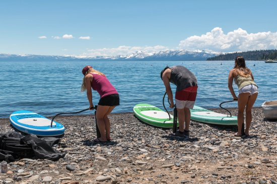 Tahoe Vista, CA: Pump up in under 10 minutes.