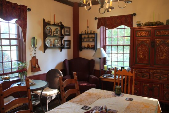 Cherryfield, ME: Another View of dining room at Englishman's B & B