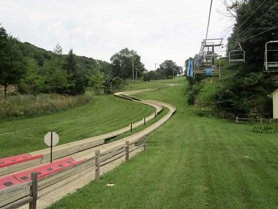 Galena, IL: The end of the Alpine Slide