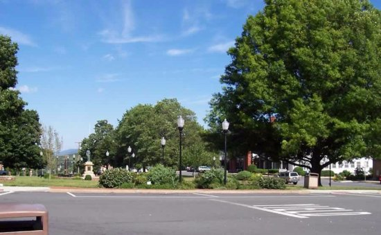 Burnsville Town Square voted one of the best in North Carolina