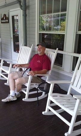 Nonantum Resort: Pretty rocking chairs abound at the Nonantum.