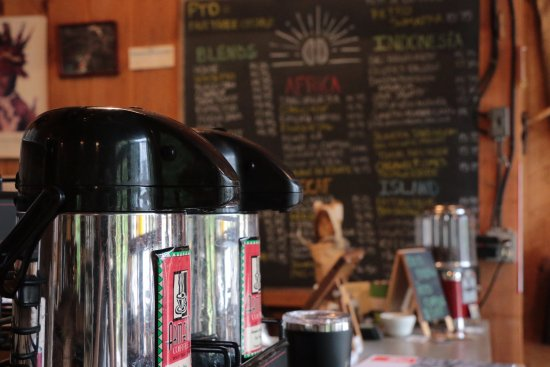 Northborough, MA: Hot coffee brewed to sample daily