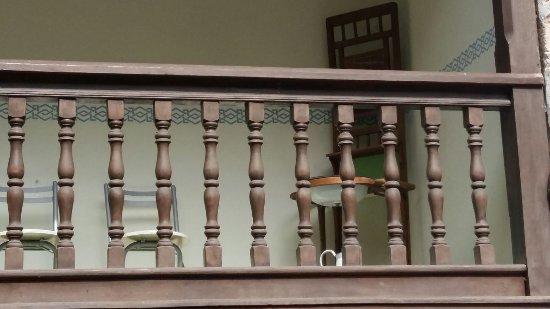 El Caserón: Balustrada