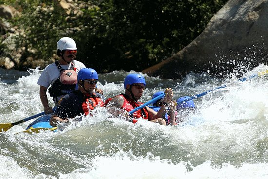 Lake Isabella, Kaliforniya: Rafting
