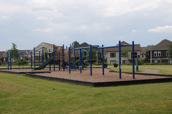 St. Catharines, Canadá: The playground for children