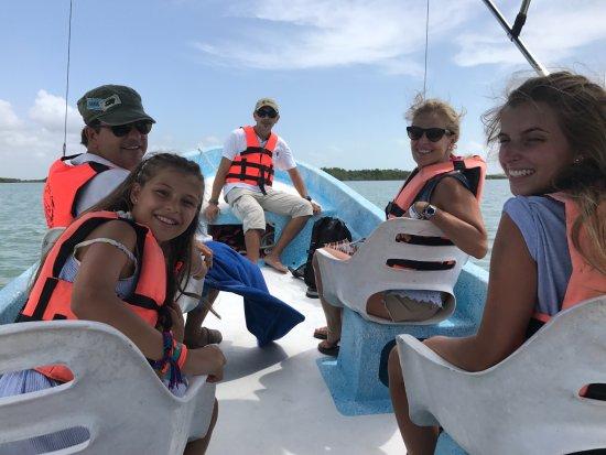 Yucatan, México: Felices en Punta Allen