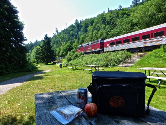 Agawa Canyon Tour Train: Bring your own lunch to avoid paying for a lunch probably not as good as your own.