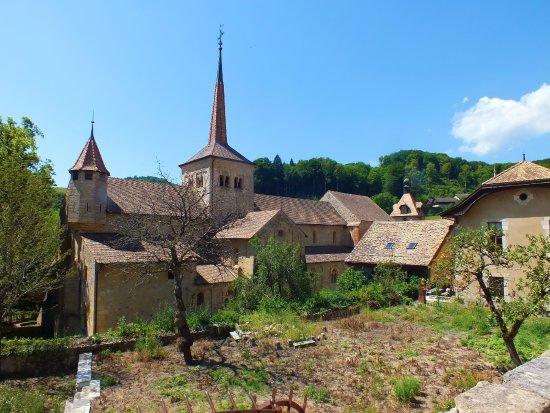 Klosterkirche Romainmotier