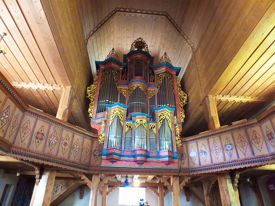 Saanen, Switzerland: orgue
