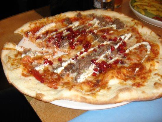 Svalbar: Pizza arctique