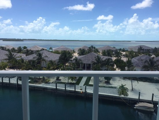Bimini: view from balcony - lagoon view