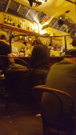 Late night drinks bar
