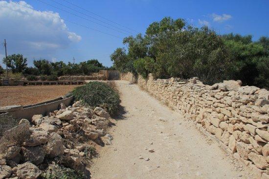 Marsaxlokk, Malta: Droga dojazdowa