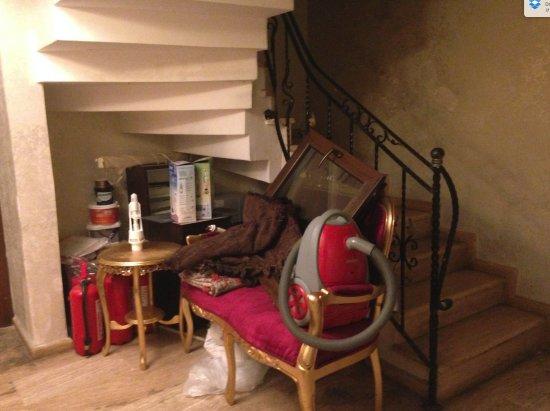 Art City Hotel Istanbul : Le couloir du sous sol