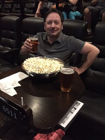 cinema craft enjoying the craft beer and unlimited popcorn picture of alamo