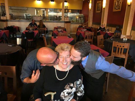 Corona, CA: Grandma and the serenaders