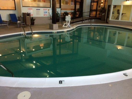 Indoor Pool With 8 Foot Deep End