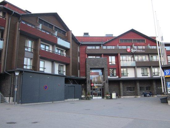 Break Sokos Hotel Levi: Entrée du bâtiment principal