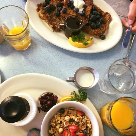 Nehalem, Oregón: Wanda's Breakfast with fresh OJ