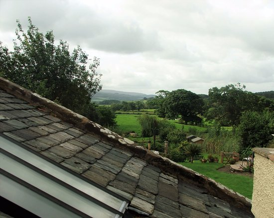 Arkholme, UK: View from Willow Room