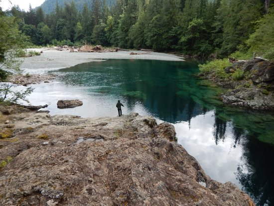 Port Alberni, Canada: Creekside stop