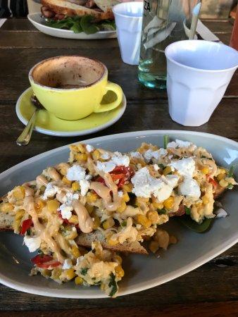 Mascot, أستراليا: Chilli scrambled eggs