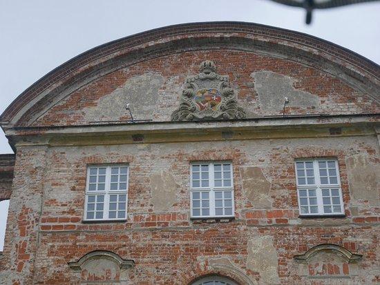 Dargun, Γερμανία: Wappendetail vom Torbau