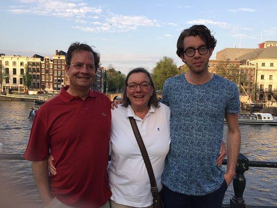 Hotel Keizershof: Our friends in Amsterdam