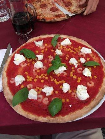 Ca' Savio, Italy: Leckere Pizza
